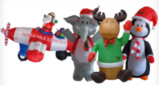 Christmas Inflatables Just $4 Each (reg. $39.99!)