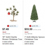 Target.com: 50% off Artificial Christmas Trees- Today Only!