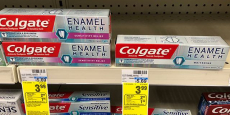 FREE Colgate Enamel Health Toothpaste + Moneymaker!