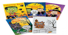 Get FREE Giant Halloween Coloring Books and Crayons Tomorrow!