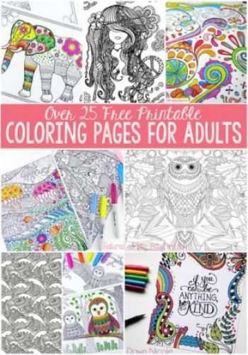 Free Coloring Pages For Teens And Adults Mojosavings Com