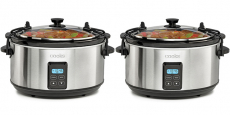 Sale on Slow Cookers – 5-Quart Travel Slow Cooker $33.99 (reg $70)