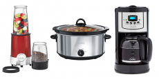 Sale on Small Kitchen Appliances at JCPenney $6.99/each (reg $50)