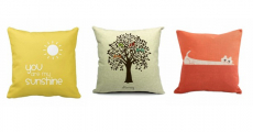 Amazon: CoolDream Throw Pillow Covers for as low $1.19 Shipped!