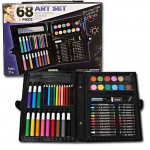 Creative Choice 68-Piece Art Set With Storage Case Only $10.99! Normally $28.99!