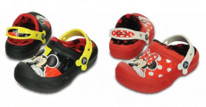 HOT! Creative Crocs Mickey & Minnie Fuzz Lined Clogs Only $19.99! Reg $40!!!