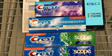 6 FREE Tubes of Toothpastes!