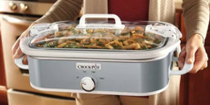 Crock-Pot 3.5-Quart Casserole Crock Slow Cooker Just $25.99! (Reg $65)