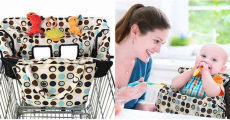 Amazon: Crocnfrog 2-in-1 Shopping Cart/High Chair Cover ONLY $13.99!