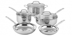 Cuisinart 8-Piece Classic Stainless Cookware Set Just $99.00 Shipped! (Reg $365)