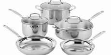 Cuisinart 8-Piece Cookware Set Just $99.99 Shipped! (Reg $365)