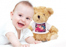 HURRY! Custom Photo Teddy Bear Only $5.00! Normally $49.99!
