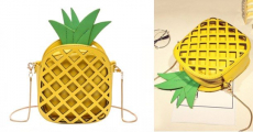 Cute Pineapple Shaped Crossbody Bag Only $6.90 Shipped!