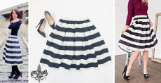 Jane: Striped Midi Skirt Only $31.99! Normally $99.99!!