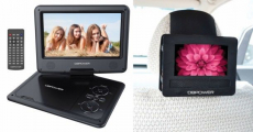Amazon: 9.5-Inch Portable DVD Player Just $56.09 shipped!