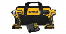 Win A Free DEWALT 20v Lithium Drill Driver/Impact Combo Kit!