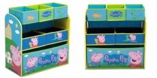 Delta Children Peppa Pig Multi-Bin Toy Organizer Just $21.23 + Free Pickup!