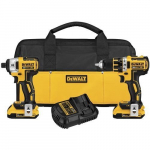 Amazon: Dewalt Brushless Compact Drill/Driver & Impact Driver Combo Kit For Only $189.00!