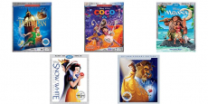 Disney Blu-Ray + DVD + Digital HD Movies starting at $11.65!