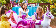 Disney Princess Royal Horse & Carriage Ride-On $98.00 shipped!