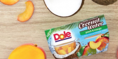 Dole Fruit Bowls in Coconut Water 4-Pack Just $0.98/Pack!