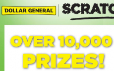 Dollar General Instant Win Game (Over 10,000 Prizes)- Last Day!