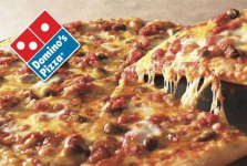 FREE Medium Two-Topping Dominos Pan Pizza!