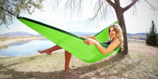 Double Camping Hammock Just $15.99! (Reg $60)