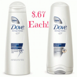 Dove Shampoo or Conditioner Only $.67 at Kroger!