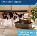 Drink Well Multi-Tier Dog and Cat Water Fountain $29.95 (REG $64.99)