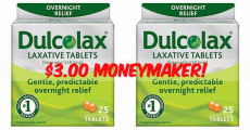*HOT! Get A $3.00 Moneymaker On Dulcolax!
