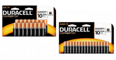 Duracell AA & AAA Batteries 16ct Packs ONLY $0.01 At Office Depot!
