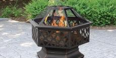 Endless Summer Hex Shaped Outdoor Fire Bowl Just $83.49 Shipped! (Reg $180)