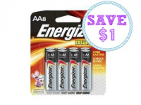 New $1.00/1 Energizer Batteries or Flashlight Coupon!
