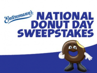 Entenmann's National Donut Day Sweepstakes: FREE Donuts, Mugs, T-Shirts + More!