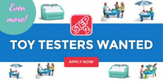 Now Is Your Chance To Be A Step2 Toy Tester!
