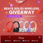 Win A FREE Pair of Beats Solo3 Wireless Headphones!