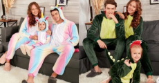 Christmas Family Pajamas Starting At Just $11.66/Each Shipped!