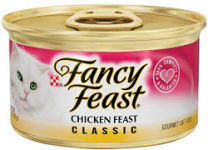 FREE Can of Friskies or Fancy Feast Cat Food!