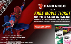 FREE Fandango Movie Tickets when you buy Schick Products!