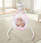 Fisher-Price Deluxe Cradle 'n SwingSurreal Serenity $110 (REG $159.99)