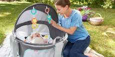 Fisher-Price On-The-Go Baby Dome Just $57.44 Shipped!
