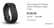 Hot! FitBit Charge HR Activity Tracker Only $109.99! Normally $149.99!