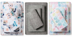 Target: Flannel Sheet Sets 50% Off! Prices Start At Only $9.99 Shipped!