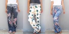 Super Comfy Pattern Lounge Pants Just $12.99! (Reg $40)