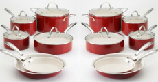 Food Network 10 Pc. Nonstick Ceramic Cookware Set Just $45.49 Shipped!