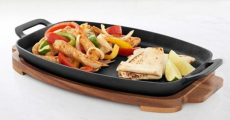 Food Network Pre-Seasoned Cast-Iron Sizzle Pan Set Just $21.59 At Kohl's!