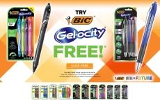 Free BIC Gel Pen