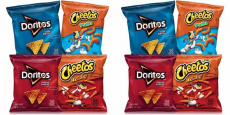 Frito-Lay Doritos & Cheetos Mix Variety Pack 40-Count Just $0.32/Bag!
