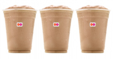 TGIF! Free Frozen Coffee Sample At Dunkin' Donuts Today!